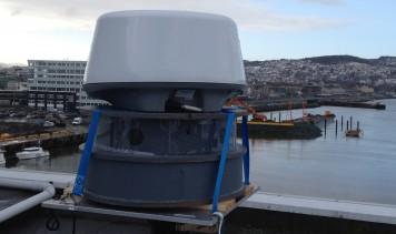 First prototype of the new CostalEye arctic instrumentation platform